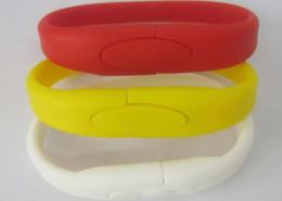 Braccialetti USB in silicone gadget a colori